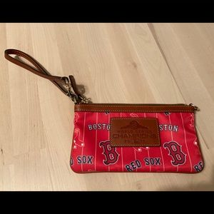 Dooney and Bourke Boston Red Sox Wristlet